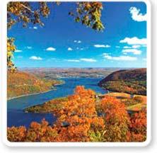 Hudson Fall Foliage