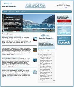 InnerSea Discoveries Alaska website