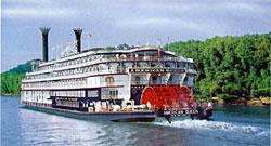 American Queen sailing under Majestic America Line