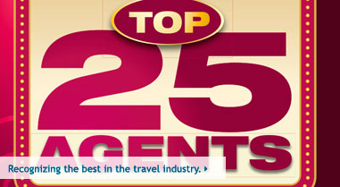 Travel Agent Magazine's Top 25 Agents 2012
