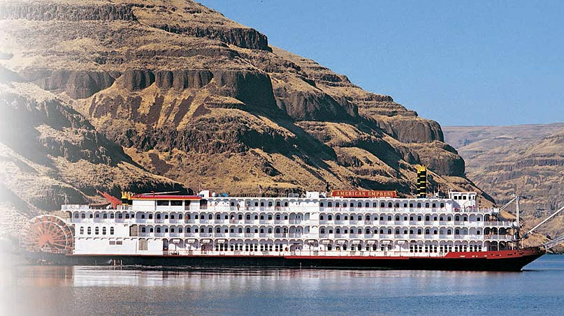 American Empress sailing the Columbia River