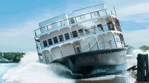 New paddlewheeler launched