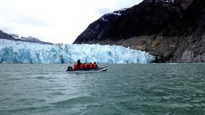 Experiencing an Alaska glacier up close and personal