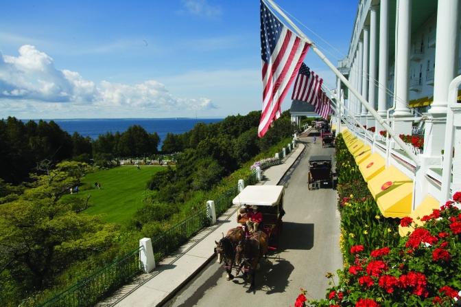 Mackinac Island's Grand Hotel